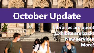 October Update